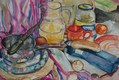 'Picnic' Watercolour  2010