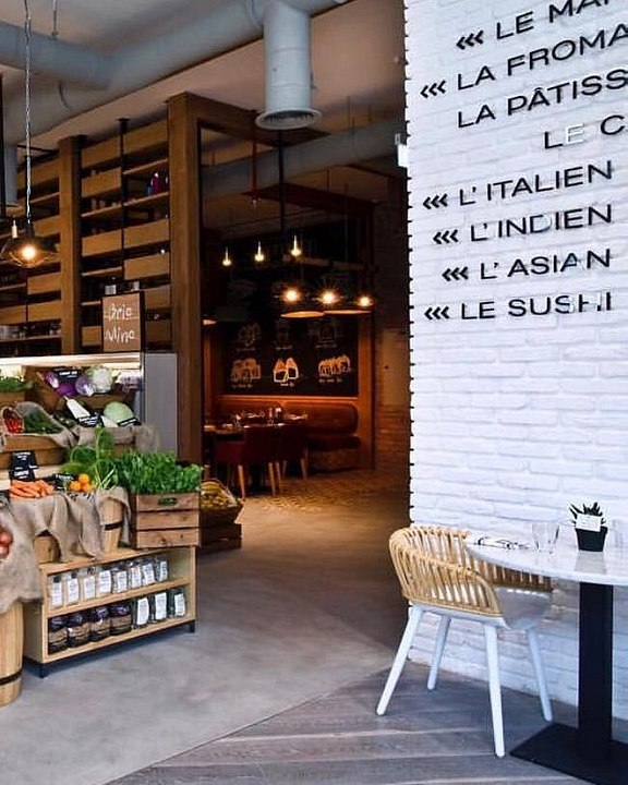 LE GOURMET VISUAL MERCHANDISING