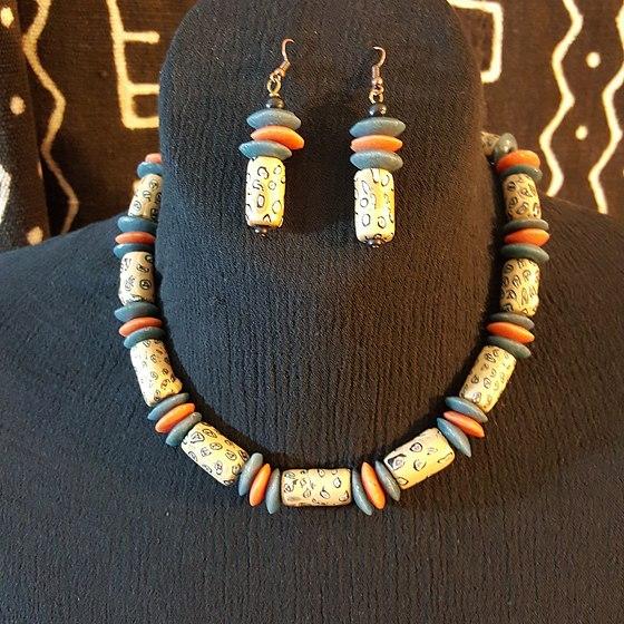 Polymer Clay Beaded Jewelry