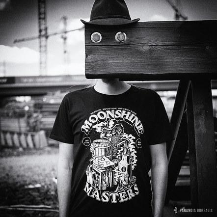 Moonshine Masters T-shirt promo