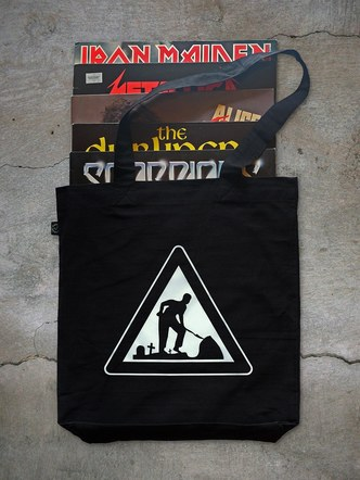 Gravedigger reflective bag