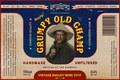 Grumpy Old Champ beer label