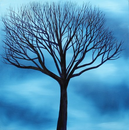 Bare Blue Nightfall