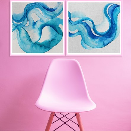 Riverbend Series with a Pink Chair