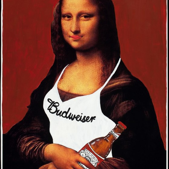 Budweiser Mona Lisa