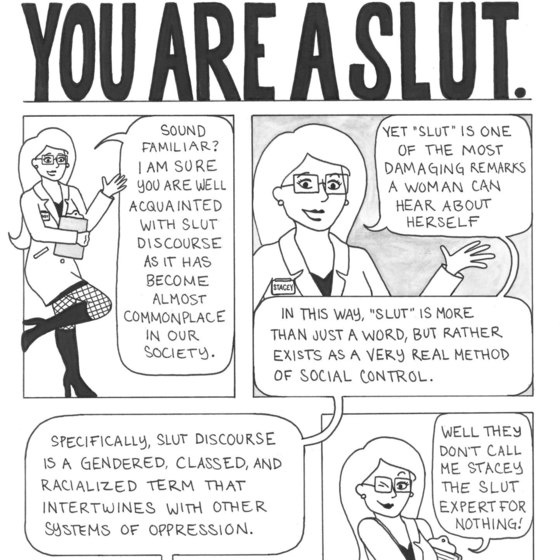 Slut Shaming Graphic Novel