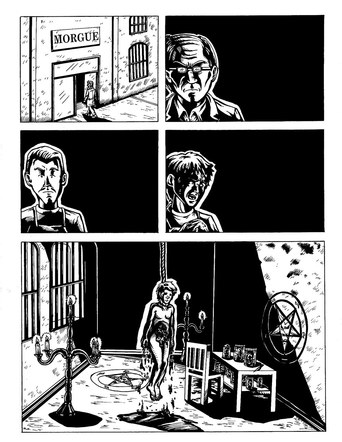 Buitres Comic Page