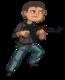 Cartoon Zombie Hunter