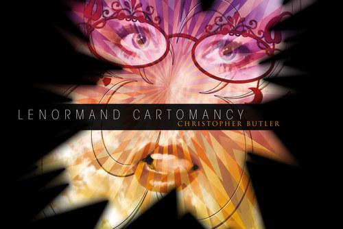 Lenormand Cartomancy. Box cover artwork.