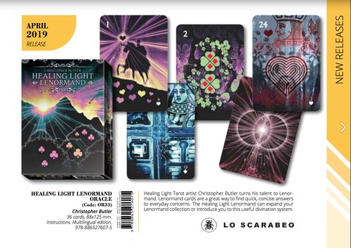 Healing Light Lenormand. Lo Scarabeo. 2019. 39 full colour illustrations. Book circa 7,500 words.