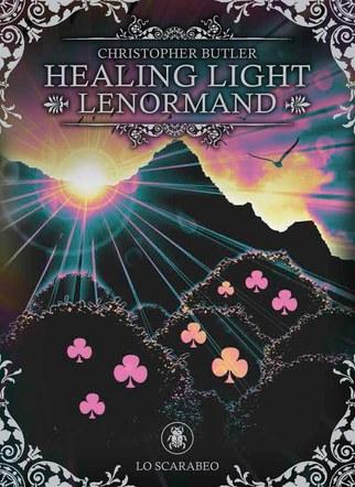 Healing Light Lenormand. Deck and Book Set. Box front artwork.