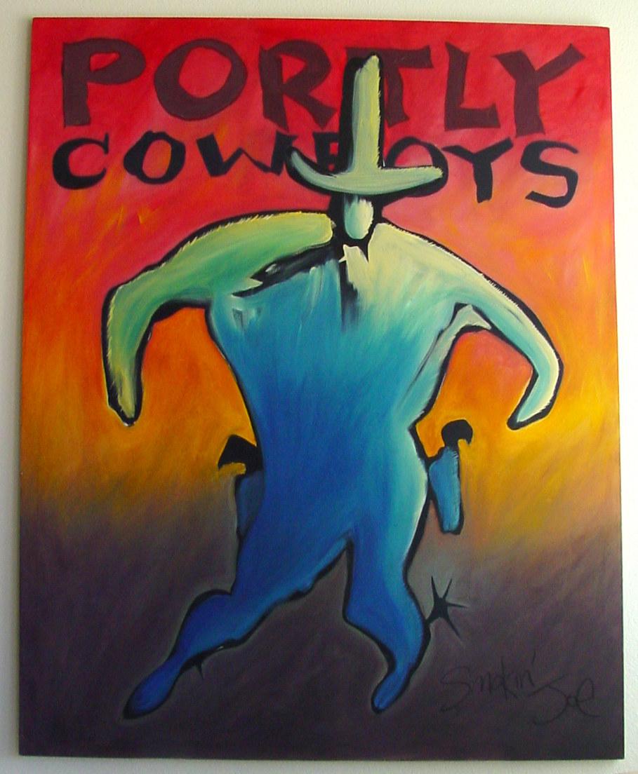 Portly Cowboys