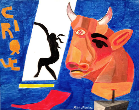 Red Bull at the Circus, by Pablo Matisse