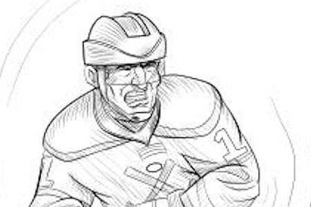 Hockey Moms Aren't Crazy book illustrations