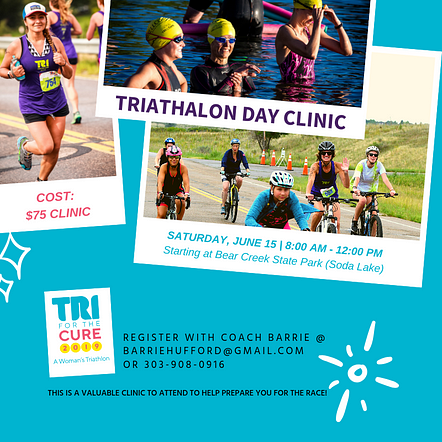 Tri For The Cure - Clinic Promo