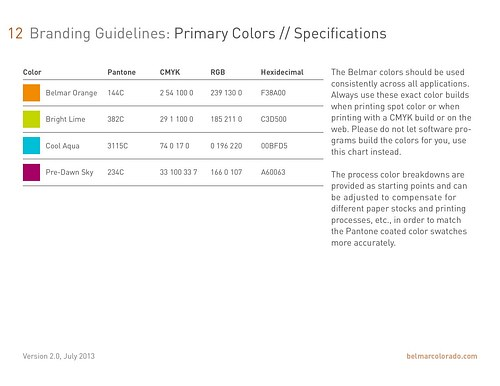 Belmar Brand Standards - pg12