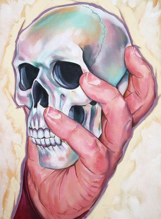 Skull in Hand