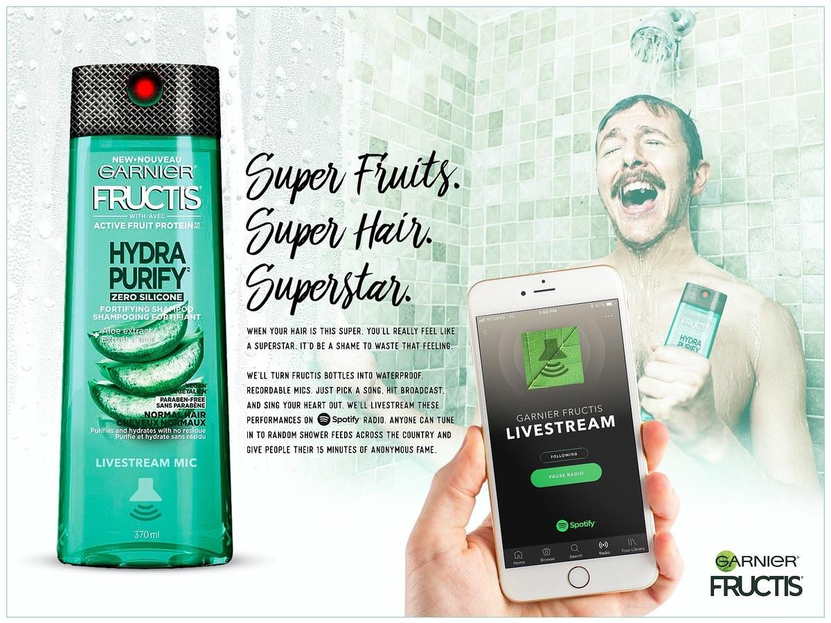 Garnier Fructis | Shampoo Mic