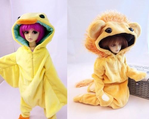BJD Doll Sized Kigurumi
