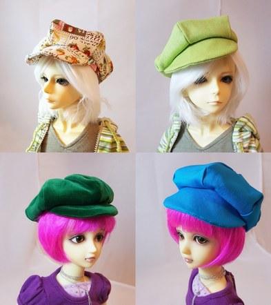 BJD SD & MSD Doll Hats