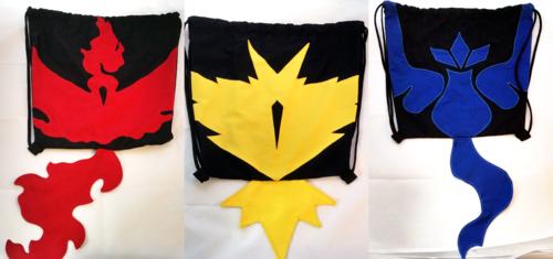 Team Logo Drawstring Backpacks