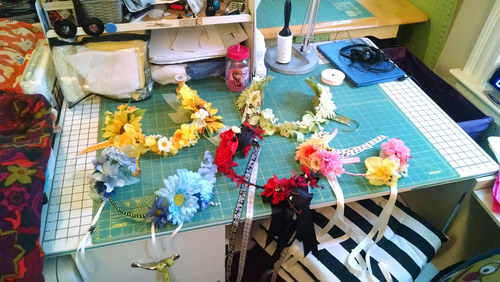 Deluxe Flower Crowns and Circlets