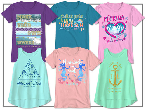 Youth Girl & Juniors Apparel - Resort