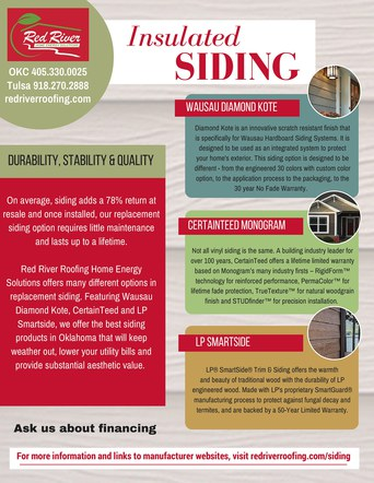 Insulated Siding Flyer