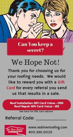 Referral Program Display Card