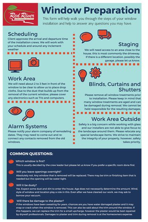 Window Preparation Fact Sheet