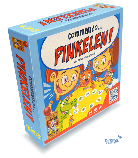 Commando Pinkelen-board game create for 999 games