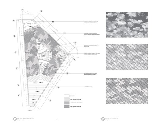 3rd Floor Plaza Landscape Plan