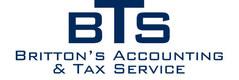 Britton's Accounting Service Logo