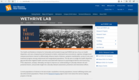 Lead initiatives for weTHRIVE Lab Website