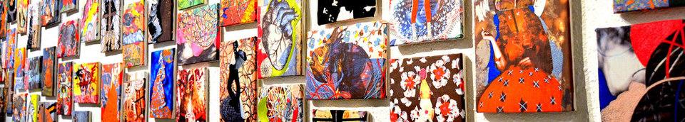 Textile & Mixed Media Art Works