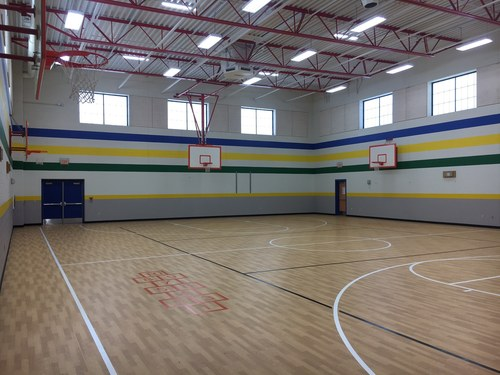 Hays ISD Science Hall - Elementary Gym