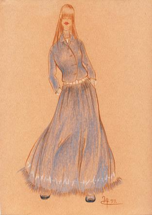 Fashion Sketch #11