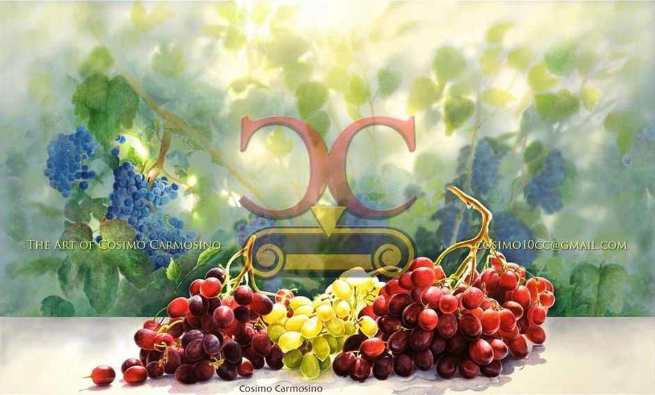 """TITLE: """"A Good Harvest of Grapes"""" (Promotional Flyer_1)"""