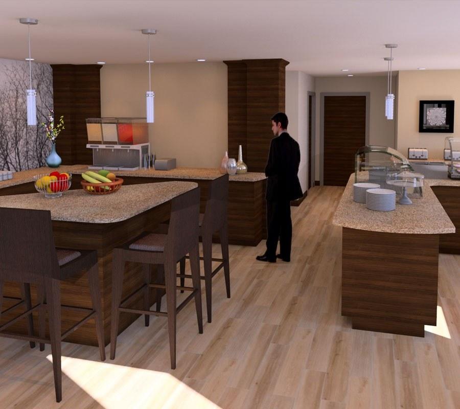 Hotel Breakfast Bar