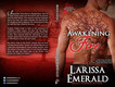 Larissa Emerald Awakening Fire Print Cover