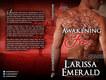 Larissa Emerald Awakening Fire Print Cover