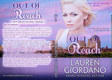Lauren Giordano  Out Of Reach Print Cover