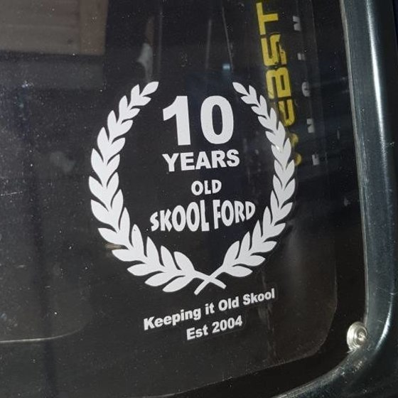 Print - Old Skool Ford