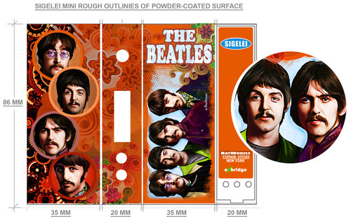 The Beatles Mod Wrap