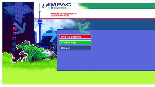 Impac Solutions Website