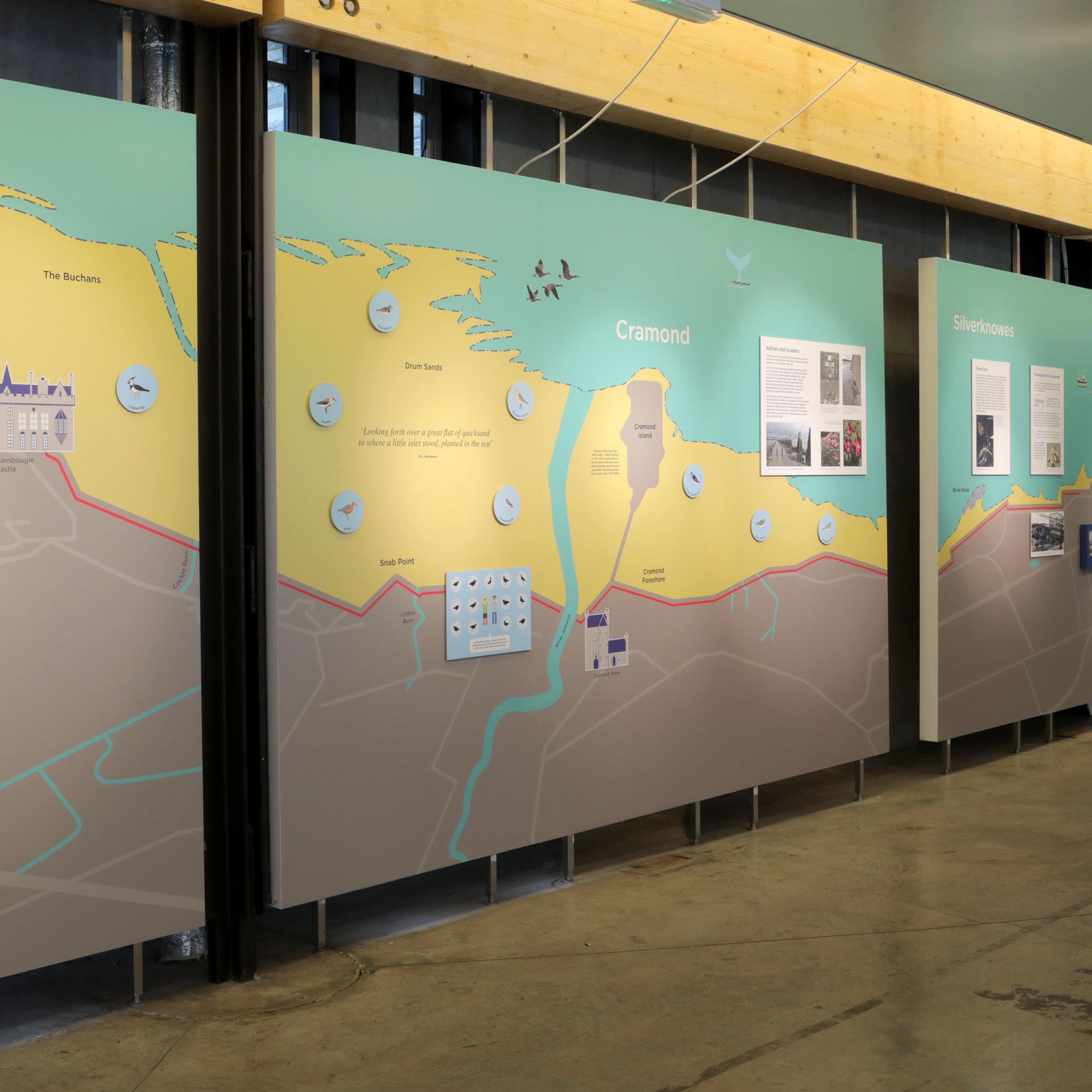 Shoreline exhibition design & build