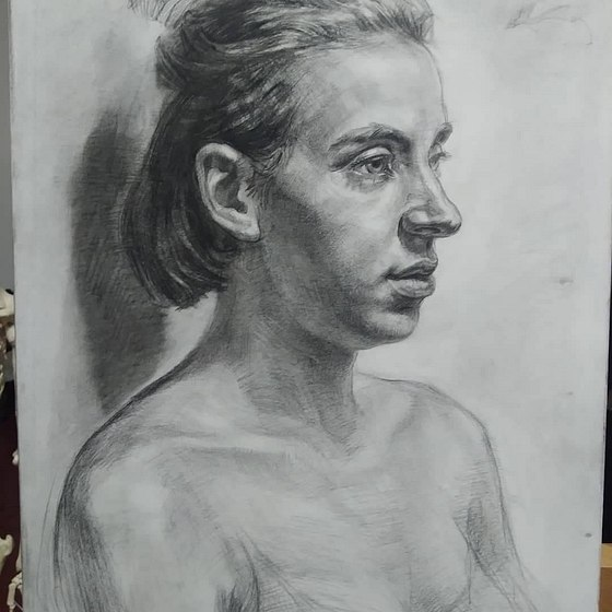 Two Month study at St Petersburg Academy of Art , Firenze Italy