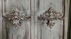 Fleur-de-lis Shutter Doors