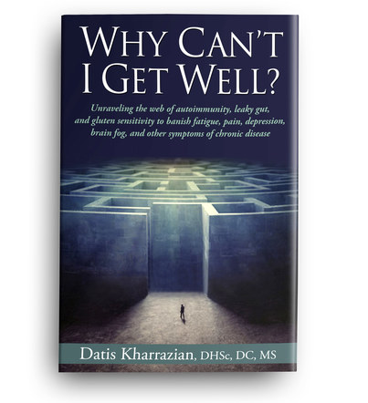 Why Can't I Get Well? | Front Cover Design 4