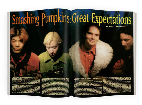 Smashing Pumpkins | RIP Magazine Spread